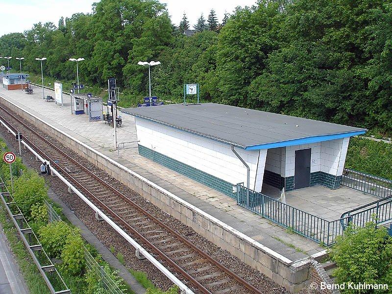 Bild: Bahnsteig im Jahre 2009