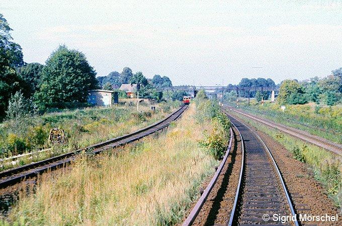 Bild: Einfahrt von Schönfließ
