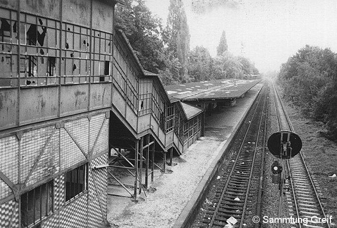 Bild: Blick auf Bahnsteig