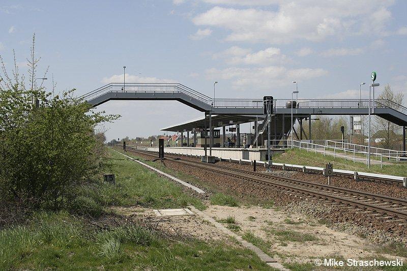 Bild: Blick auf den Bahnhof