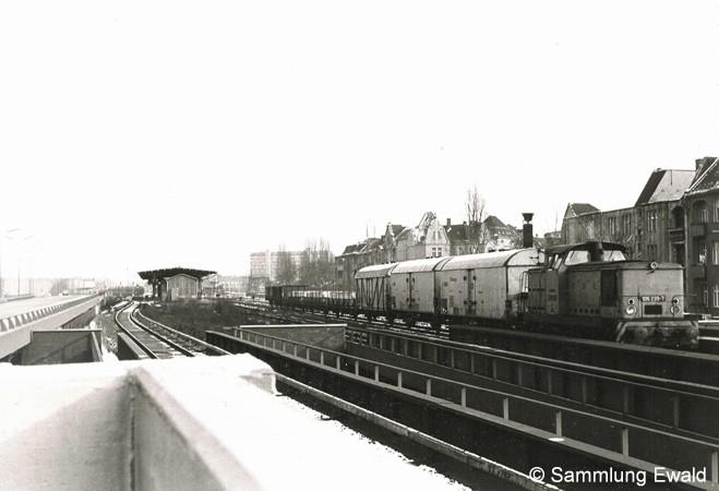 Bild: Übergabezug nahe Wilmersdorf