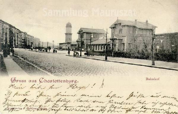 Bild: Ansichtskarte von 1900