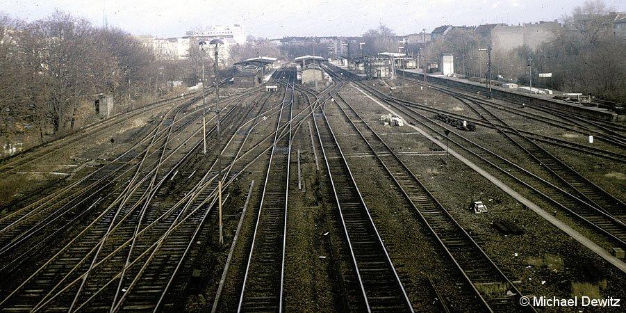 Bild: Blick auf Bahnhof