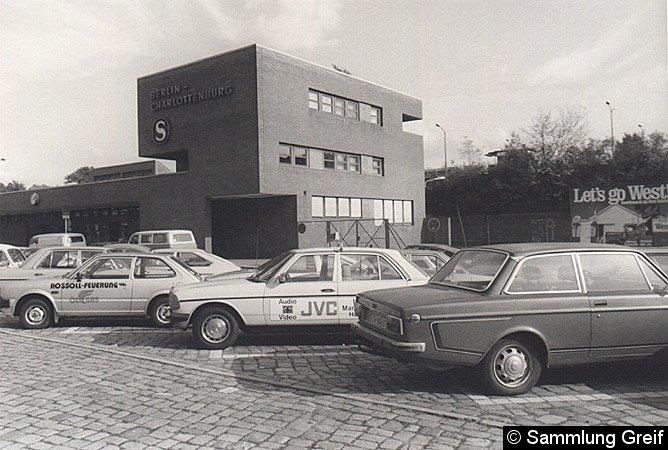 Bild: Empfangsgebäude von 1971