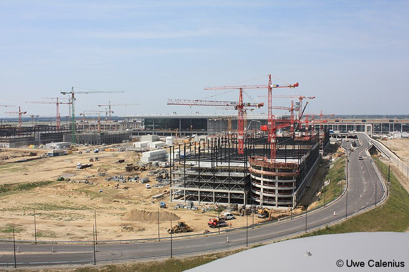 Bild: oberirdische Bauaktivitäten