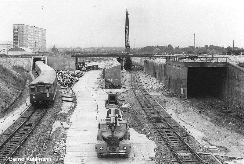 Bild: Bauarbeiten 1975