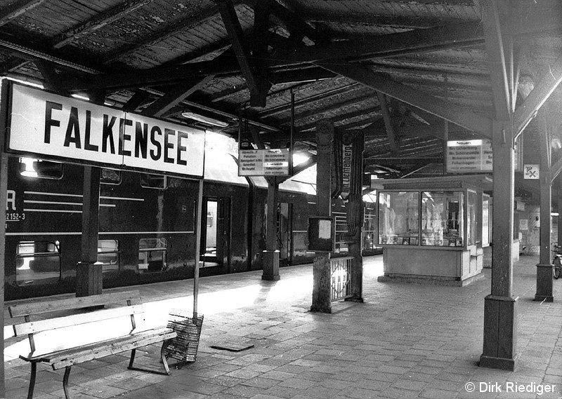 Bild: Stationsansicht Falkensee