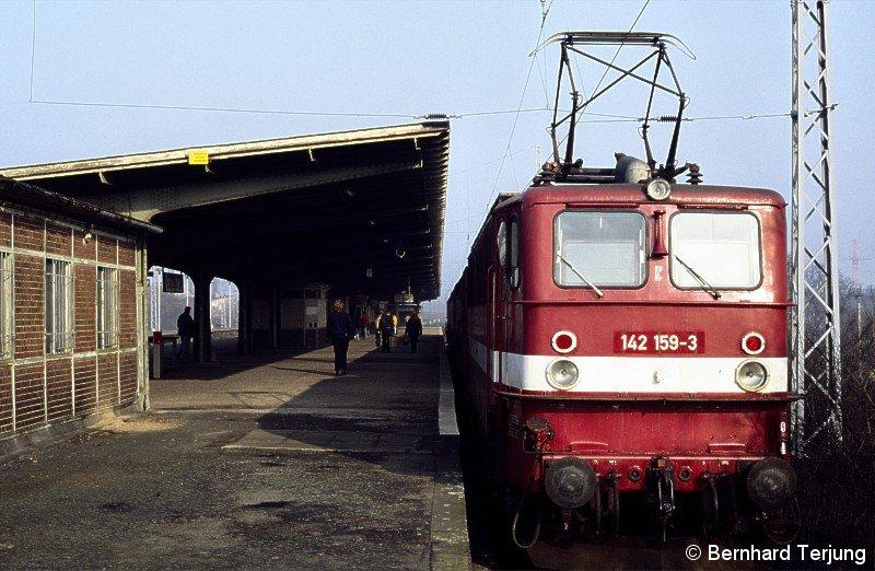 Bild: Oberleitungsbetrieb in Hennigsdorf