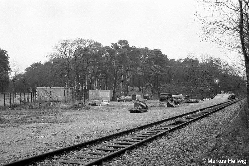 Bild: Verladeplatz der BVG 1987