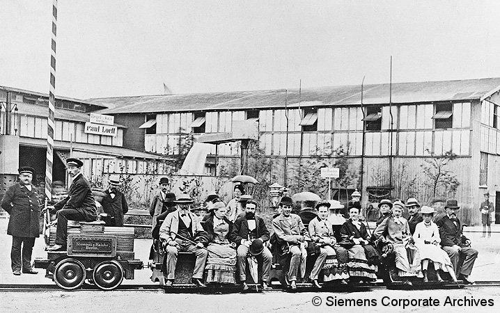 Bild: erste Eisenbahn