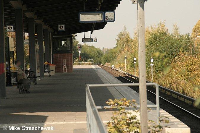 Bild: Bahnsteiggleis 2