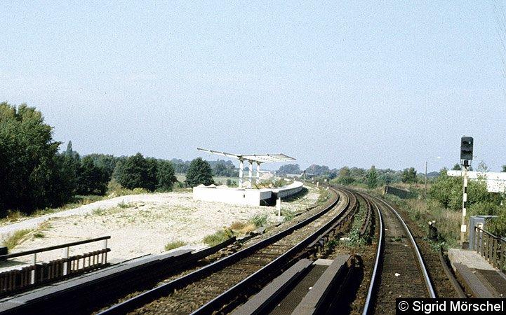 Bild: Bahnsteig im Bau