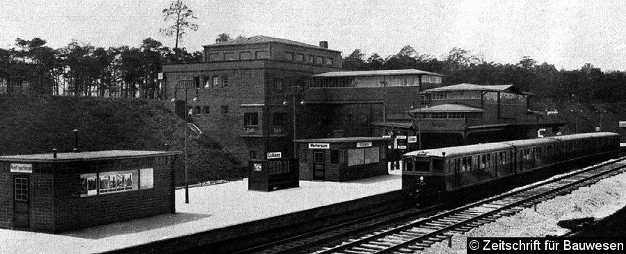 Bild: Blick auf die Station