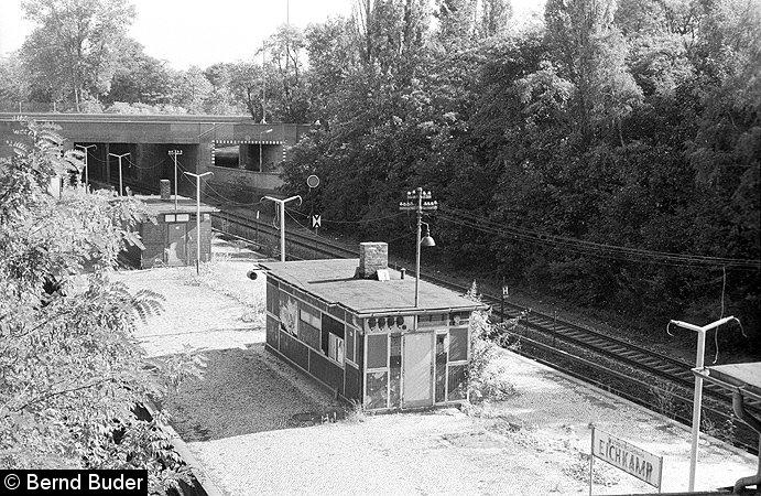 Bild: stillgelegte Station