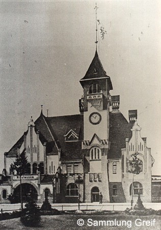 Bild: Empfangsgebäude Nikolassee