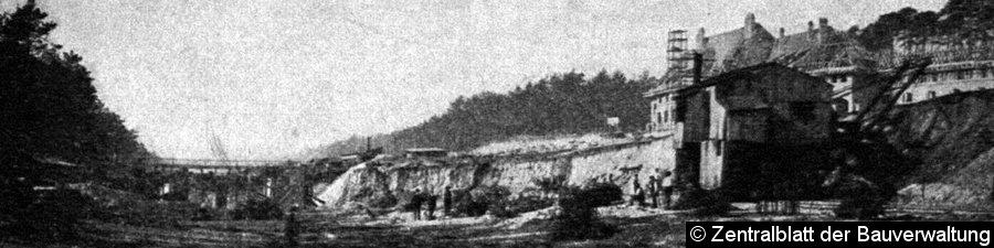 Bild: Bau der Station