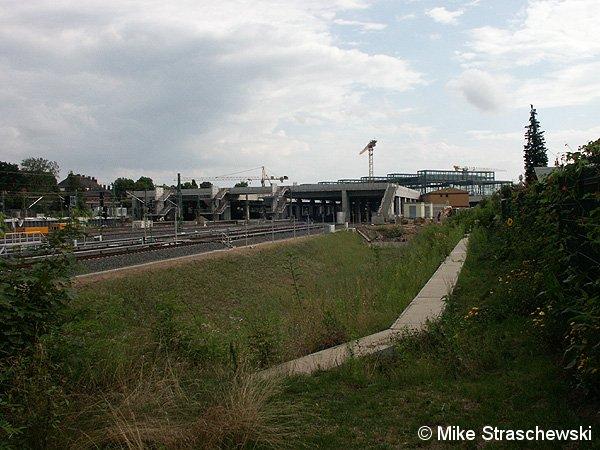 Bild: Neubau Bahnhof