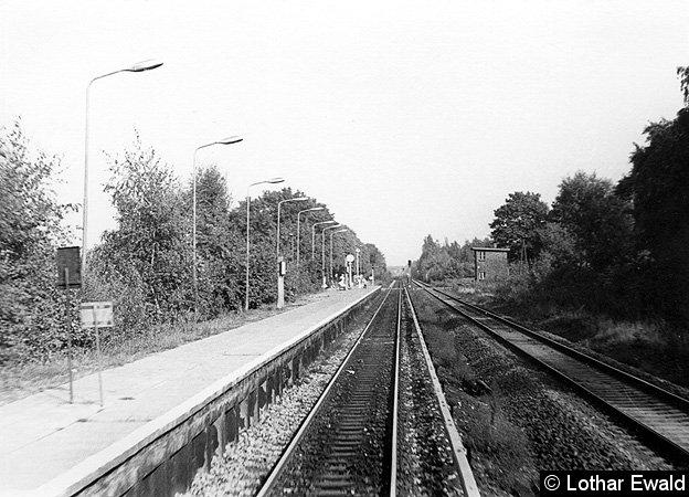 Bild: Einfahrt von Fredersdorf