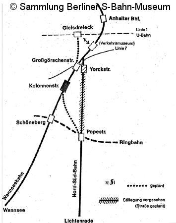 Bild: geplanter Gleisplan