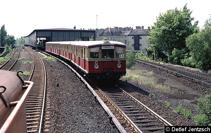 Bild: BR 275 Richtung Papestraße