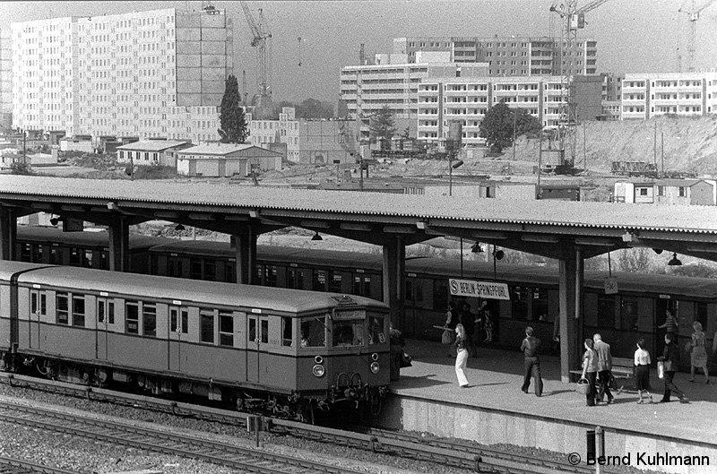 Bild: Zugverkehr Im Jahre 1978
