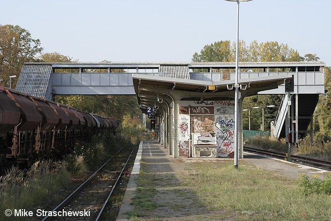 Bild: Bahnsteig 2009