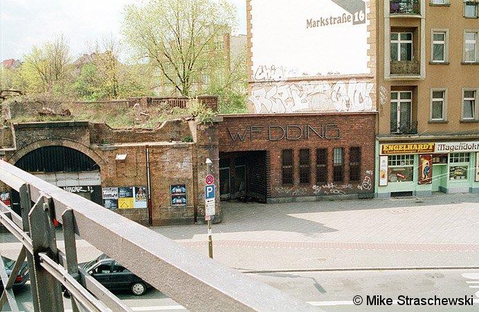 Bild: Eingang Nettelbeckplatz