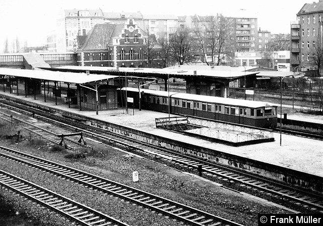 Bild: westliches Bahnsteigende