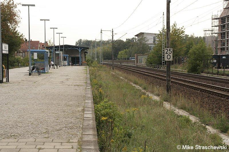Bild: ohne zweites Gleis 2006