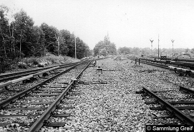 Bild: Ausfädelung Stammbahn