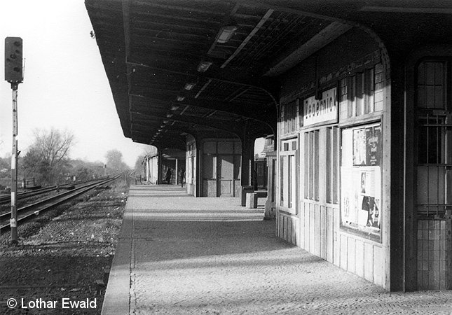Bild: fehlendes Gleis 2