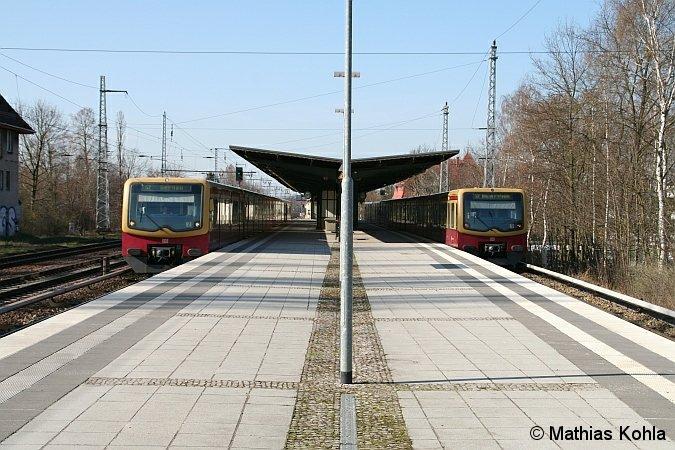 Bild: Zugkreuzung 2010