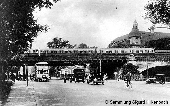 Bild: nahe S-Bahnhof Tiergarten