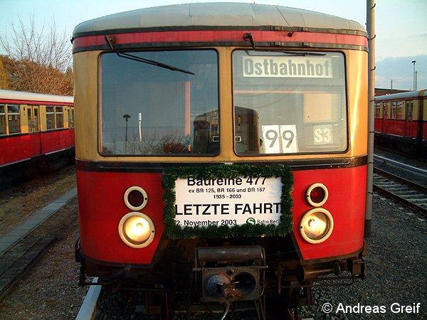 Abschied BR 477