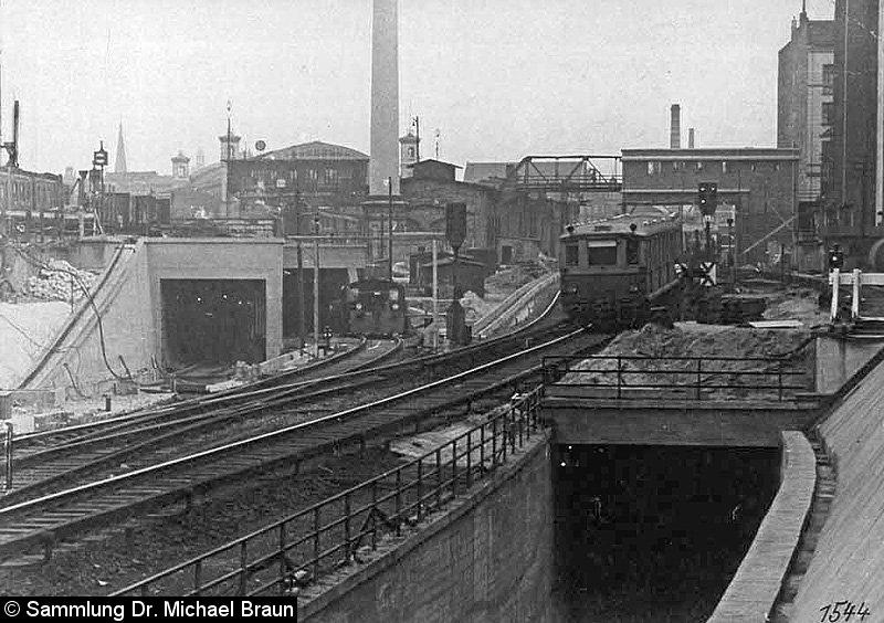 Bild: Bauarbeiten Nordsüd-S-Bahntunnel