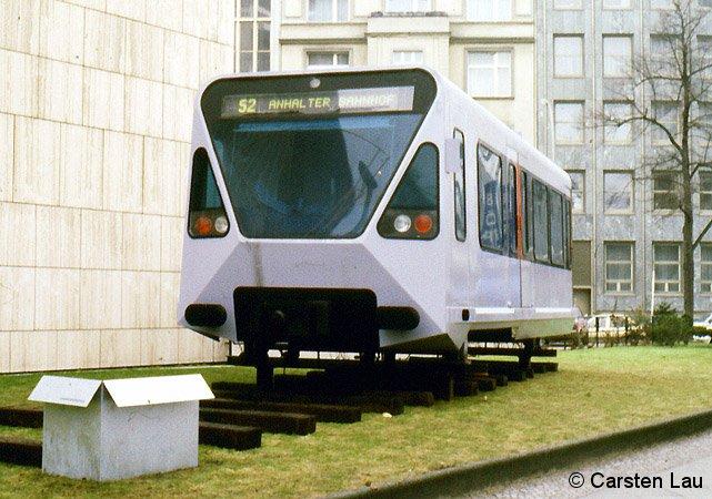 Modell in der Hardenbergstraße