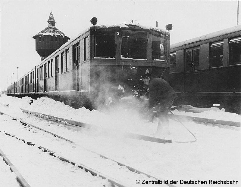 Bild: Schneezug 1979 - 1