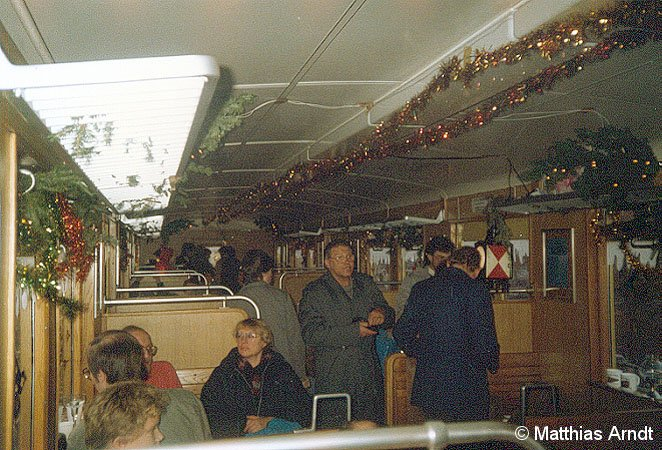 Bild: Weihnachtszug BVG 1987 - 2