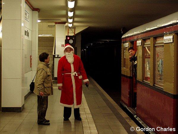 Bild: Weihnachtszug 2004 in Potsdamer Platz