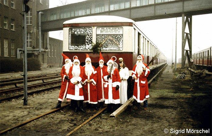 Bild: Weihnachtszug DR 1984 - 2