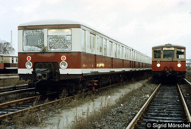 Bild: Weihnachtszug DR 1985 - 1