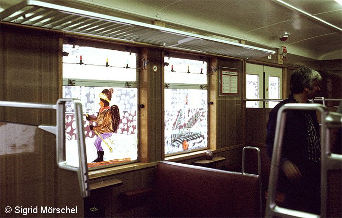 Bild: Weihnachtszug DR 1985 - 5
