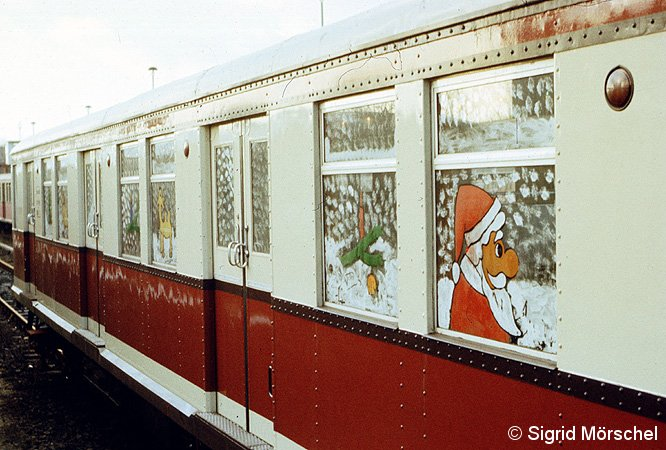 Bild: Weihnachtszug DR 1985 - 7