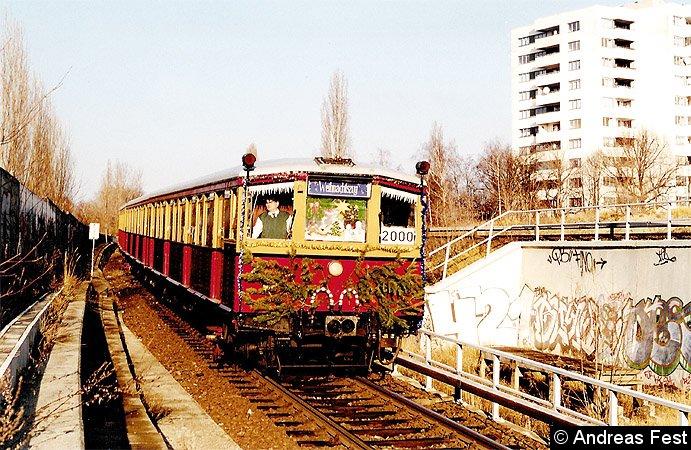 Bild: Weihnachtszug 2000 -2