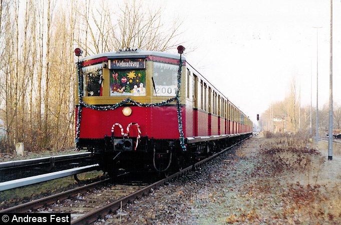 Bild: Weihnachtszug 2001 - 2