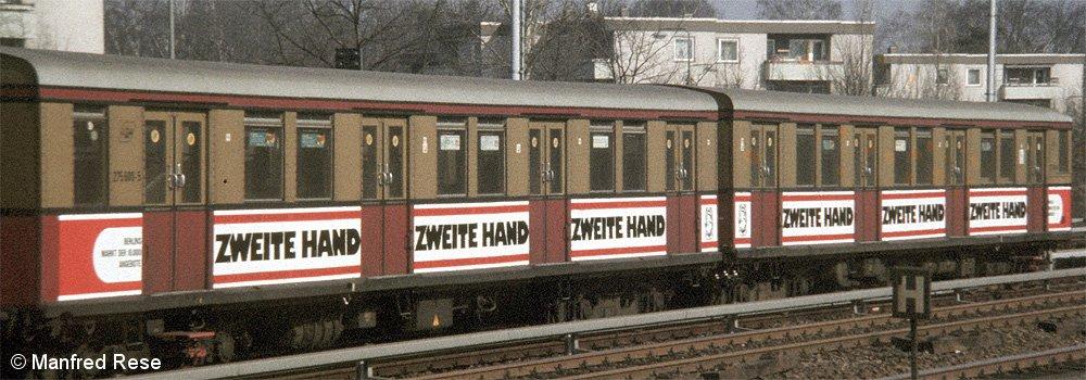 Bild: Werbung Zweite Hand