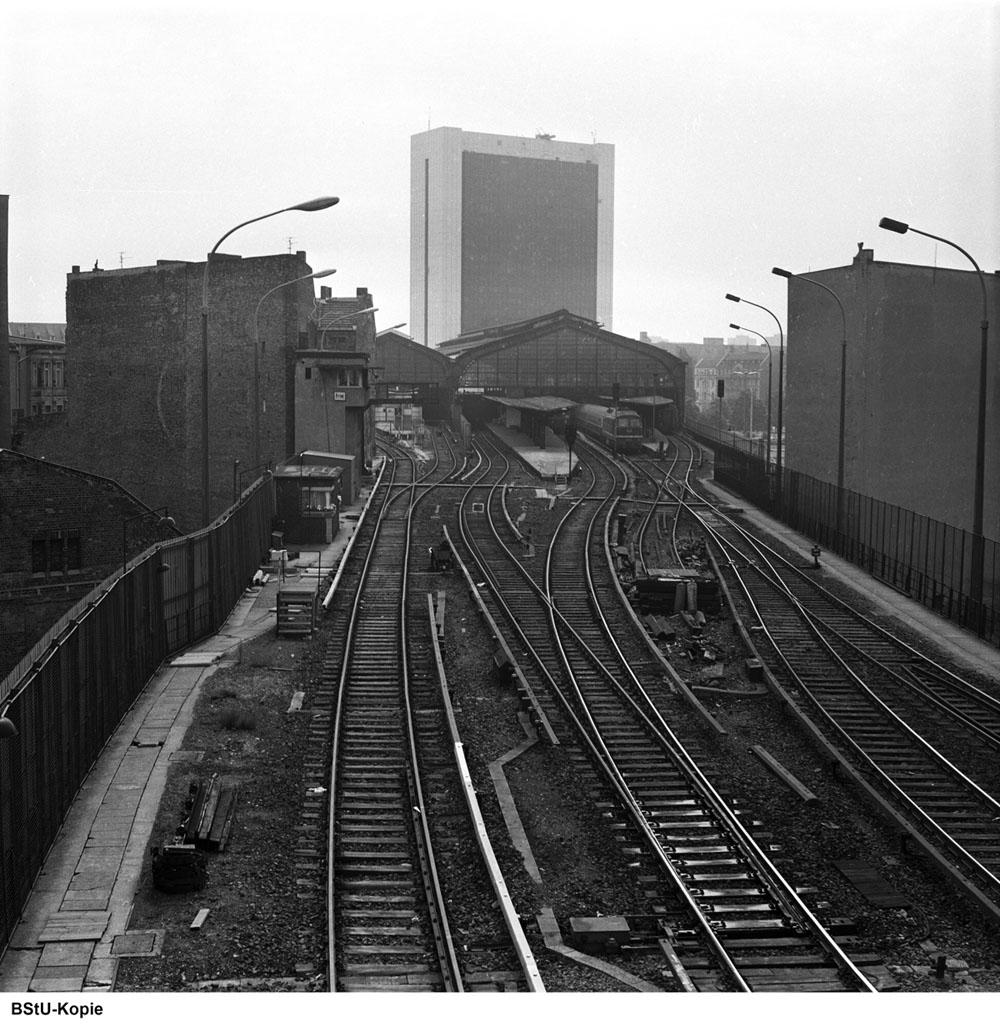 Bild: Westliches Gleisfeld nahe Stellwerk Friw-3