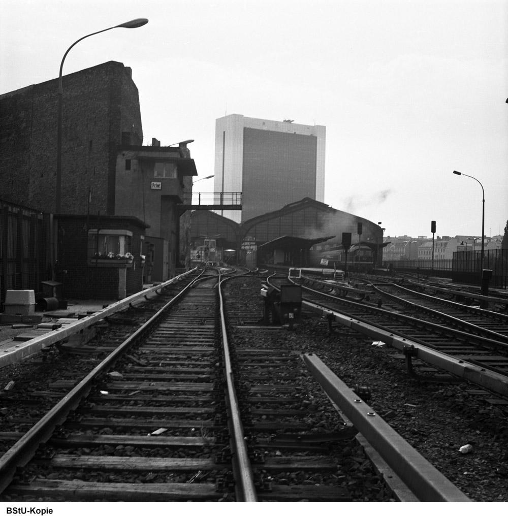 Bild: Westliches Gleisfeld nahe Stellwerk Friw-2