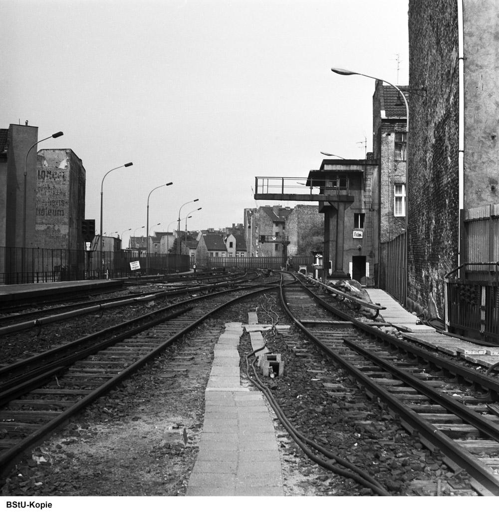Bild: Westliches Gleisfeld nahe Stellwerk Friw-1