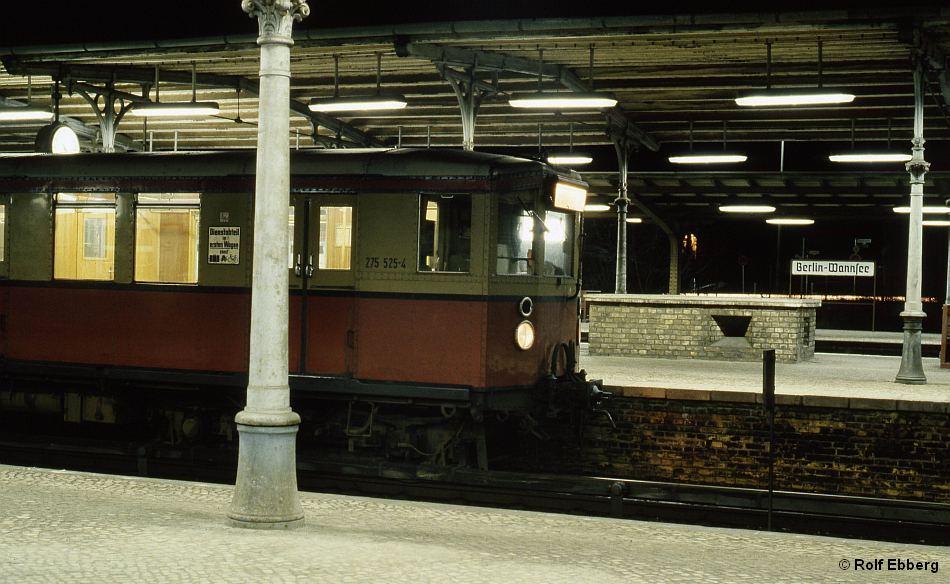 Bild: Zug in Wannsee 3